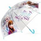 deštník Frozen průhledný