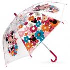 deštník Minnie Mouse průhledný