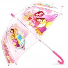 deštník Princezny průhledný