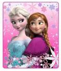 Fleece deka Frozen Ledové království Elsa a Anna