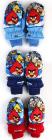 NEPROMOKAVÉ RUKAVICE palcové Angry Birds sv.modré vel. 3-4 roky