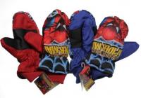 NEPROMOKAVÉ RUKAVICE Spiderman modré 4-6 roků