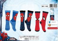 Ponožky Spiderman vel. 35/36 AKCE 29% sleva