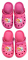 Crocs sandále Tlapková Patrola vel. 29-30 růžové