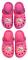 Crocs sandále Tlapková Patrola vel. 33-34 růžové