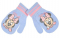 Rukavice Minnie Mouse baby modré